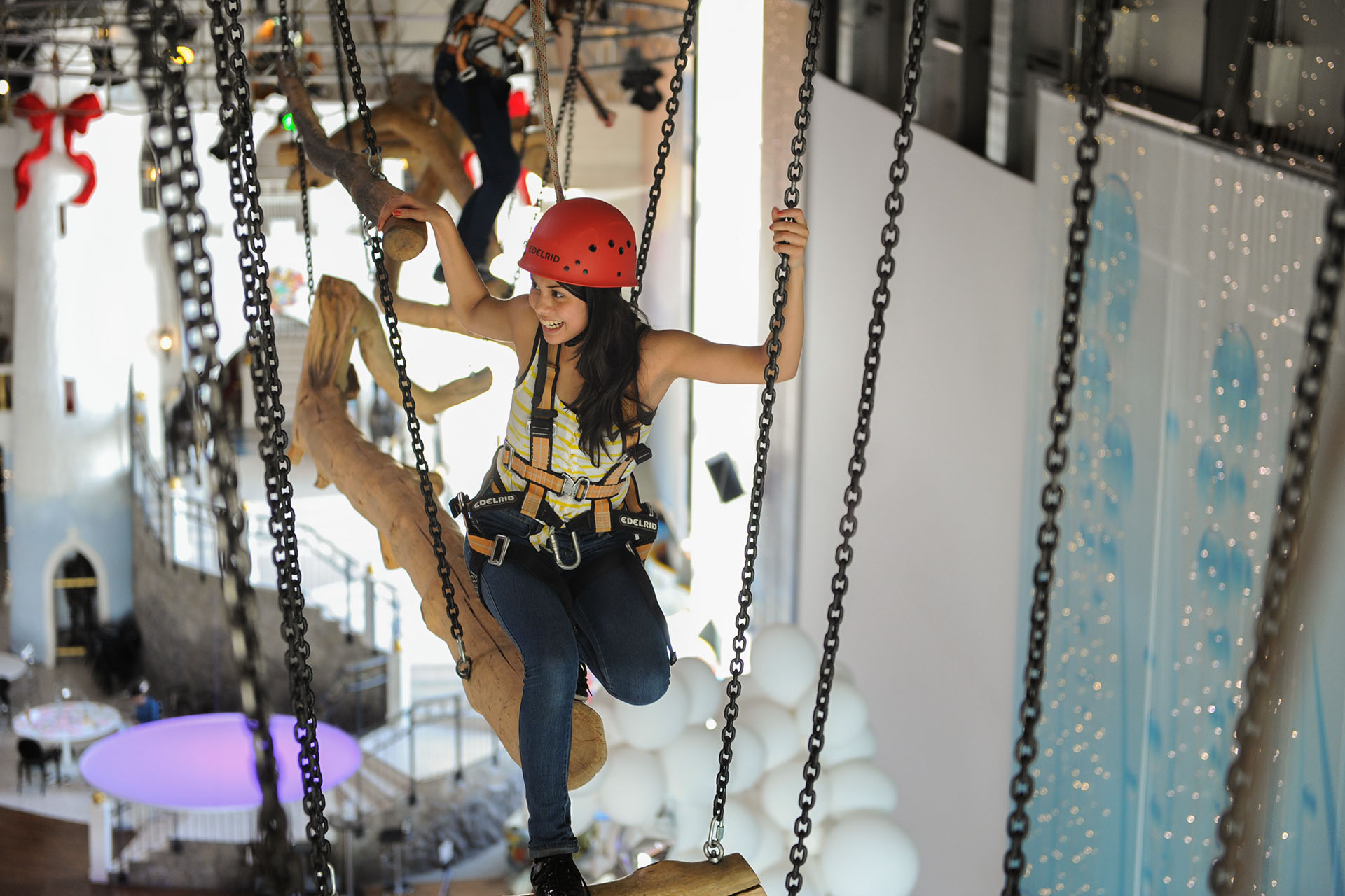 High Ropes Course Sensapolis The Indoor Leisure Park
